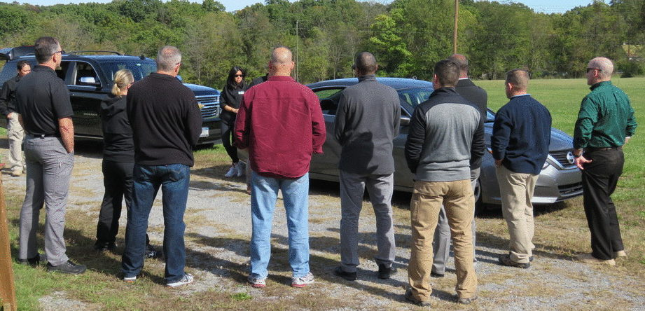 Practical Exercise at Executive Protection Institute